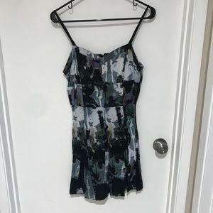 Used, Jack abstract print skater dress. for sale
